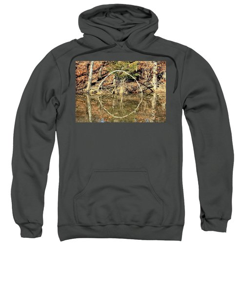 A Ring On The Pond In Fall Sweatshirt