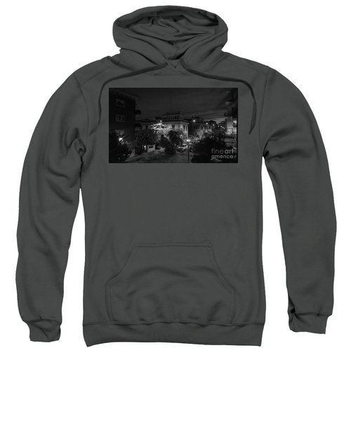 A Roman Street At Night Sweatshirt