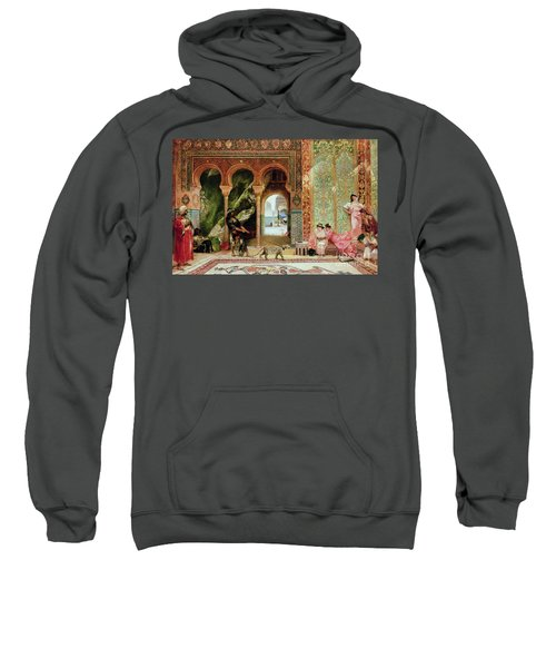 A Royal Palace In Morocco Sweatshirt