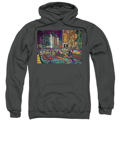 A San Antonio Christmas Sweatshirt