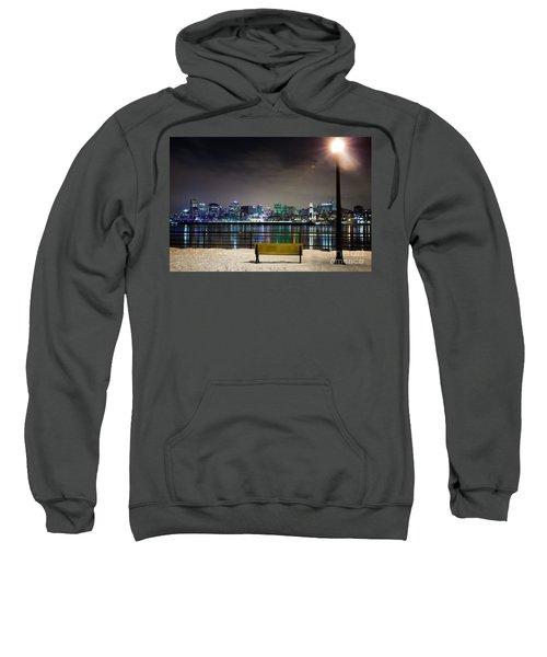 A Snowy Night In Montreal  Sweatshirt