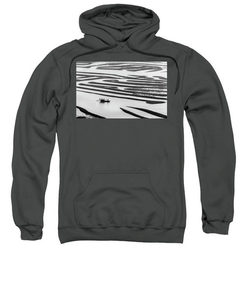 A Solitary Boatman. Sweatshirt