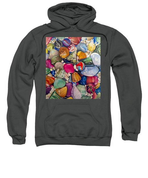 A Splash Of Color And Hardness Sweatshirt