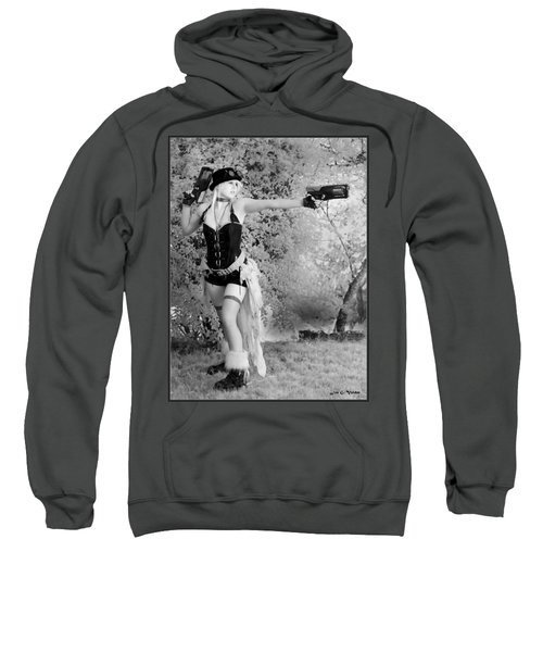A Steam Punk Heroine Sweatshirt