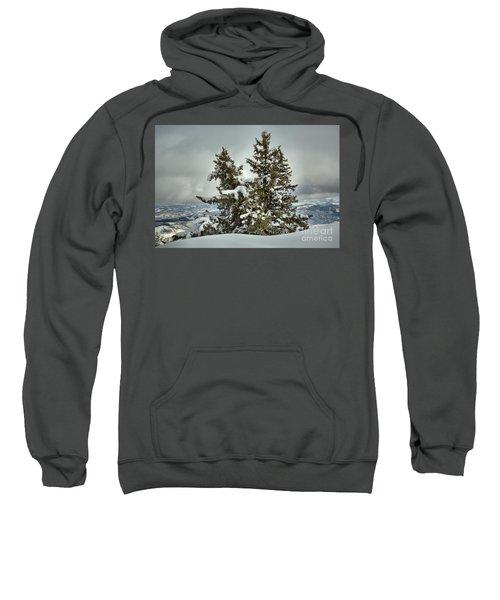 A Strip Of Mountains Sweatshirt