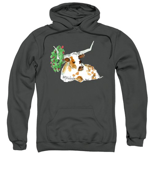 A Texas Welcome Christmas Sweatshirt