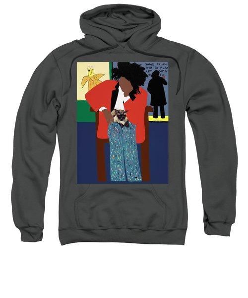 A Tribute To Jean-michel Basquiat Sweatshirt