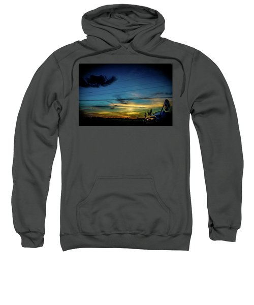 A Trucker's View Sweatshirt