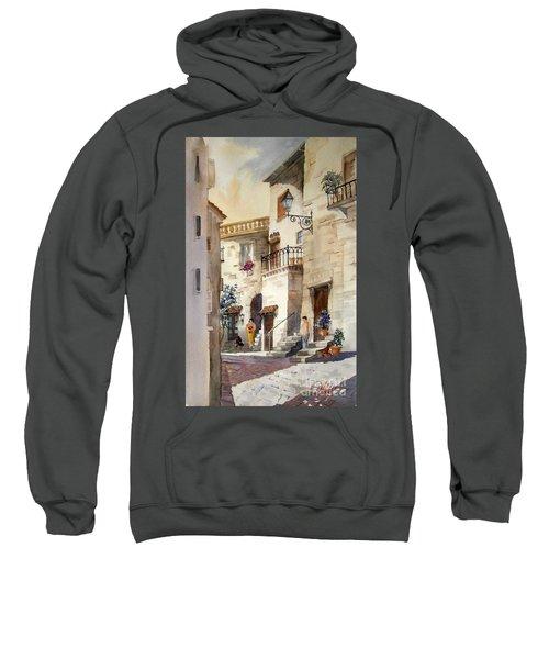A Tuscan Street Scene Sweatshirt