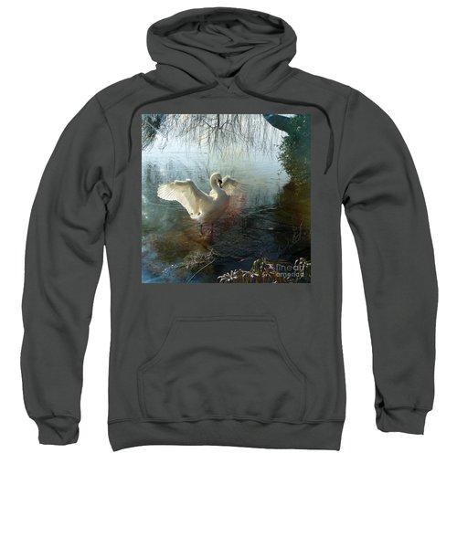 A Very Fine Swan Indeed Sweatshirt