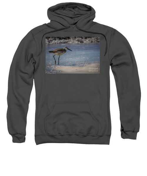 A Walk On The Beach Sweatshirt by Marvin Spates