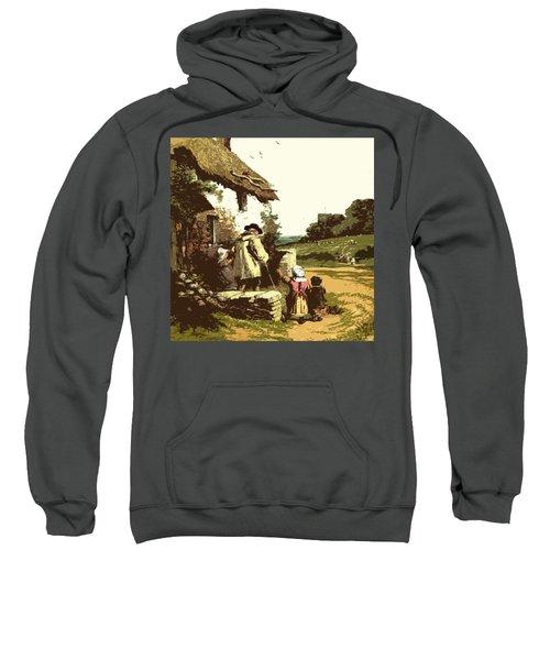 A Walk With The Grand Kids Sweatshirt