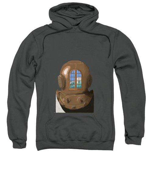 A Wave Inside The Helmet Sweatshirt