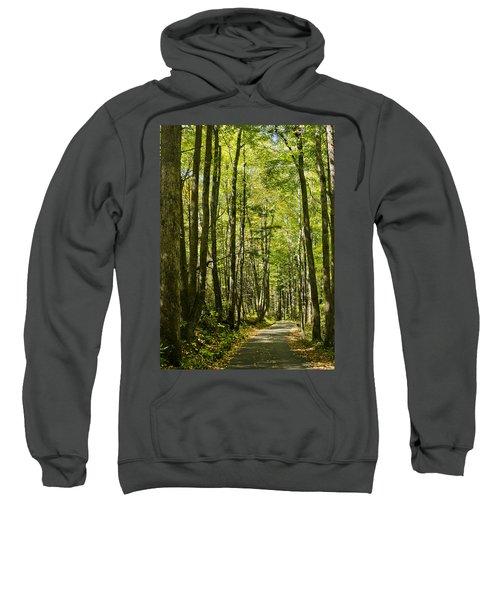 A Woodsy Trail Sweatshirt