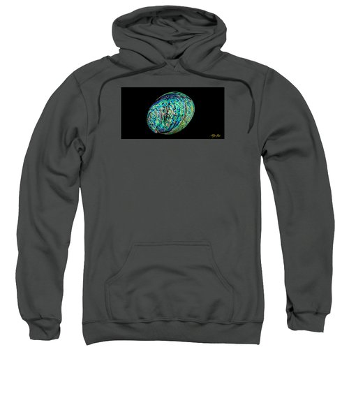 Abalone On Black Sweatshirt