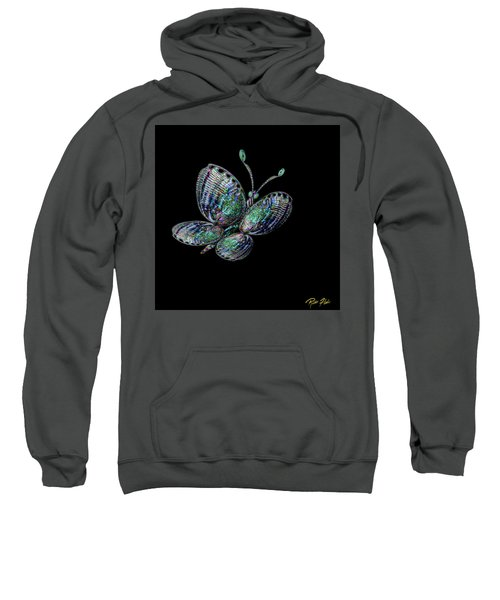Abalonefly Sweatshirt by Rikk Flohr