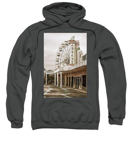 Abandoned Arcade And Ferris Wheel Sweatshirt