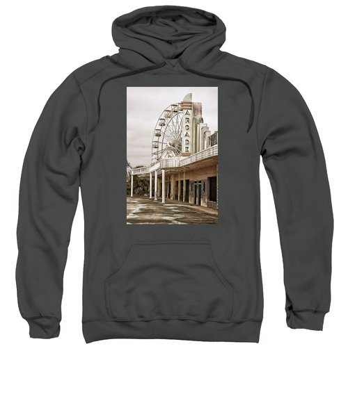 Abandoned Arcade And Ferris Wheel Sweatshirt