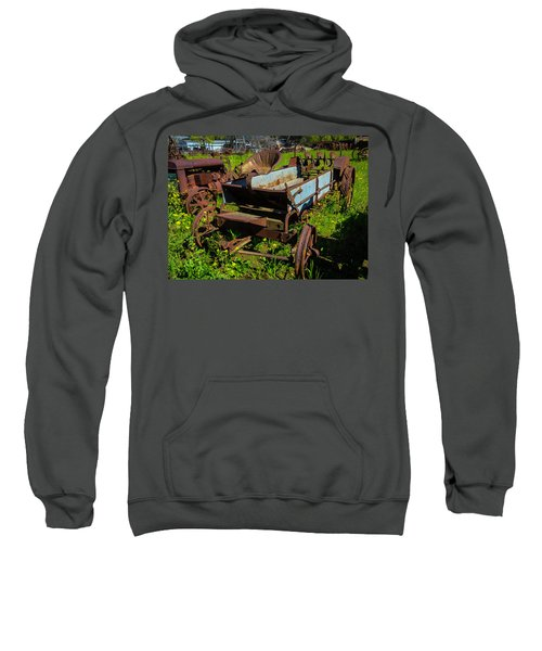 Abandoned Farm Equipment Sweatshirt