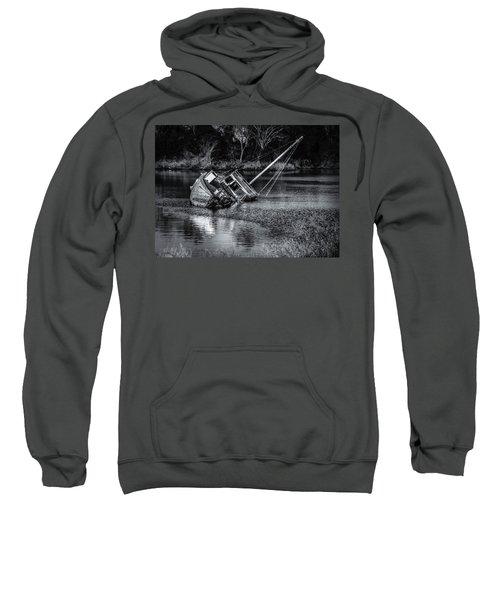 Abandoned Ship In Monochrome Sweatshirt