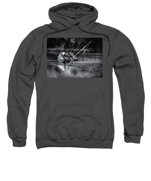 Abandoned Ship In Monochrome Sweatshirt