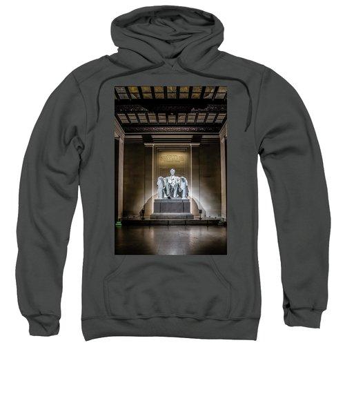 Abe Lincoln Under His Night Lights  Sweatshirt