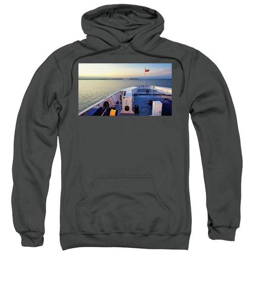 Aboard The Chi-cheemaun Sweatshirt