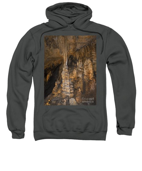Above And Below In Luray Caverns Sweatshirt