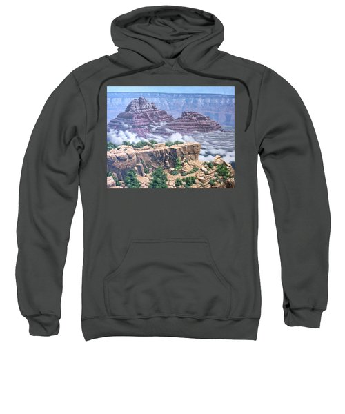 Above The Clouds Grand Canyon Sweatshirt by Jim Thomas