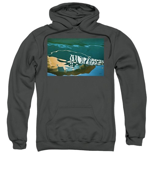 Abstract Boat Reflection Sweatshirt