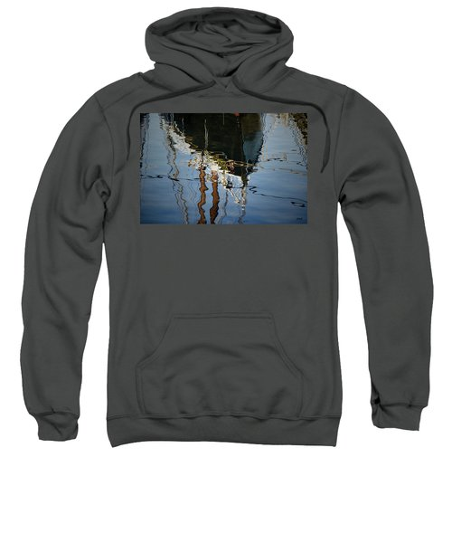 Abstract Boat Reflection IIi Sweatshirt