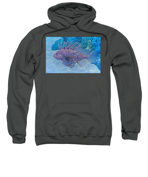 Abstract Lionfish Sweatshirt