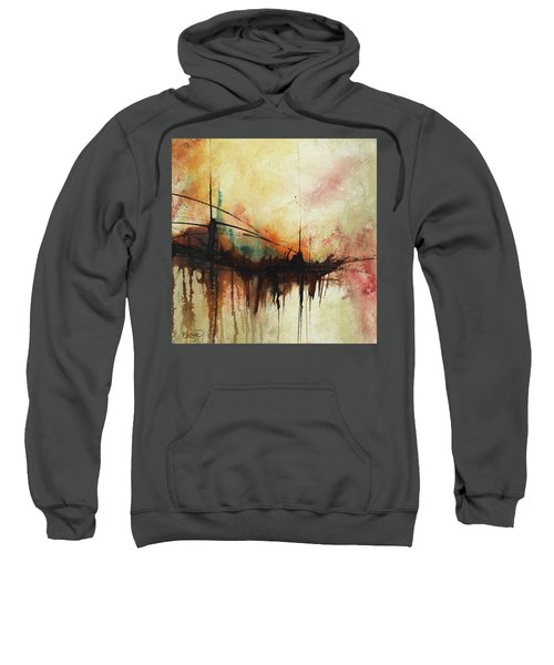 Abstract Painting Contemporary Art Sweatshirt