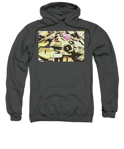 Abstract Typescript Sweatshirt