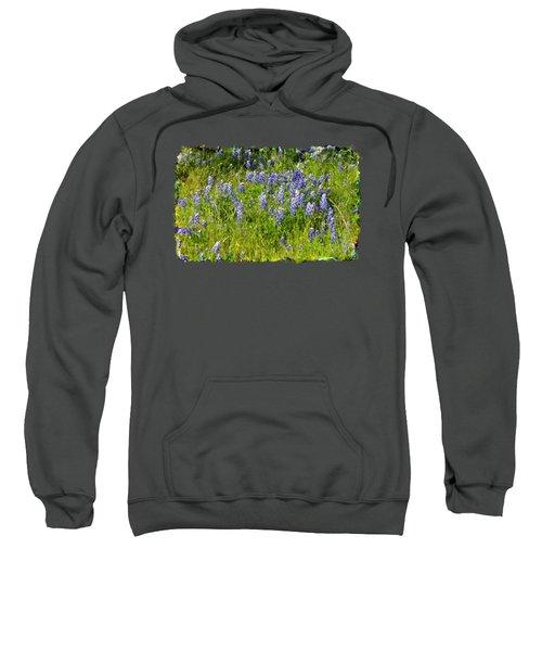 Abundance Of Blue Bonnets Sweatshirt