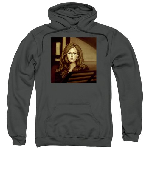Adele Gold Sweatshirt by Paul Meijering