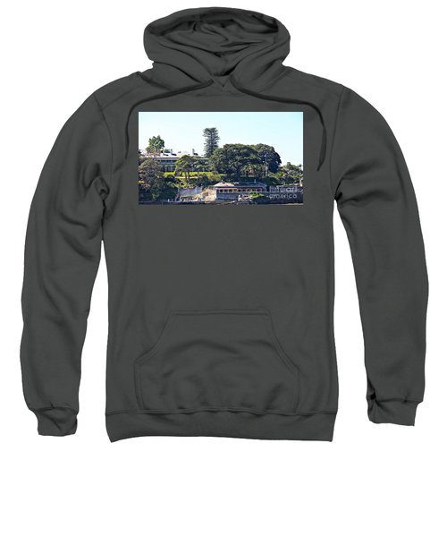 Sweatshirt featuring the photograph Admiralty House by Stephen Mitchell
