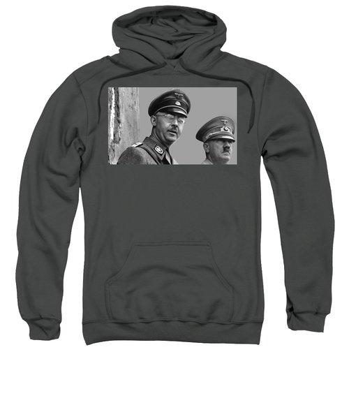 Adolf Hitler And Gestapo Head Heinrich Himmler Watching Parade Of Nazi Stormtroopers 1940-2015 Sweatshirt