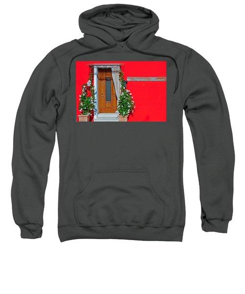 A-door-ned Sweatshirt