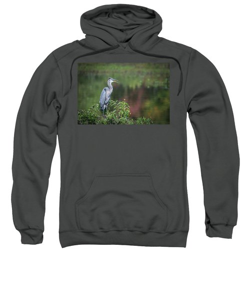 Advice From A Great Blue Heron Sweatshirt
