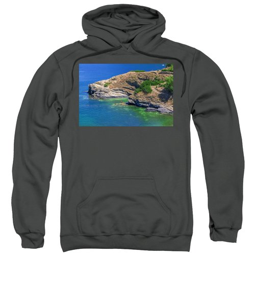Aegean Coast In Bali Sweatshirt