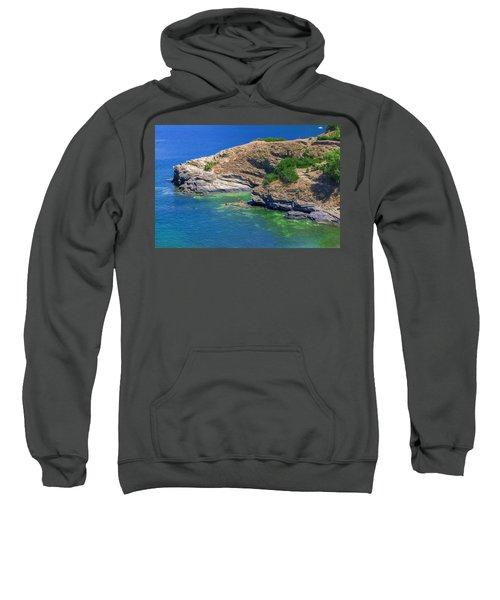 Aegean Coast In Bali Sweatshirt
