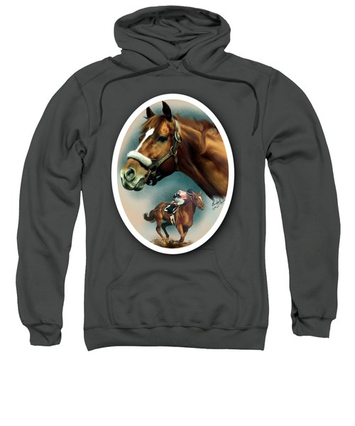 Affirmed With Name Decor Sweatshirt