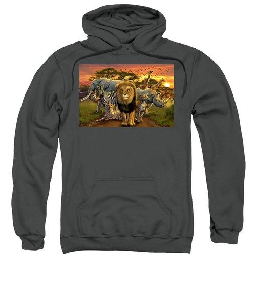 African Beasts Sweatshirt