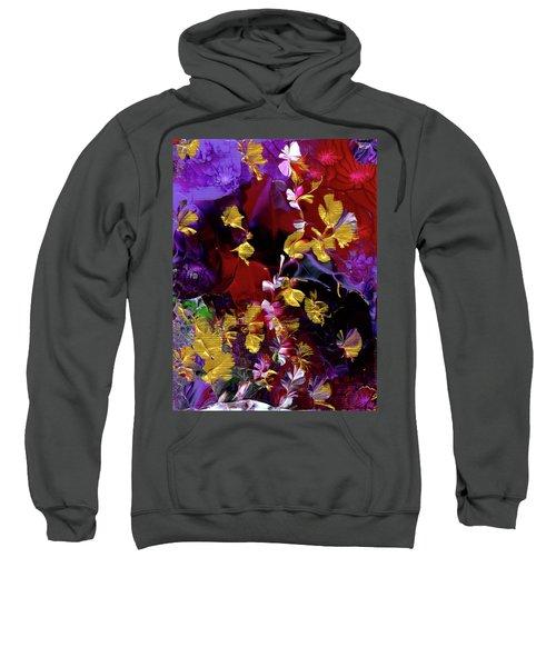 African Violet Awake #3 Sweatshirt