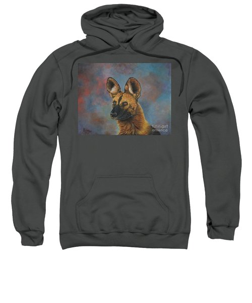 African Painted Wild Dog Sweatshirt
