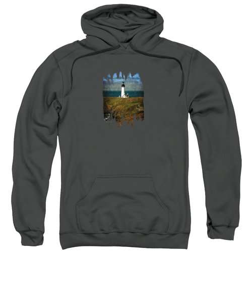 Afternoon At The Yaquina Head Lighthouse Sweatshirt