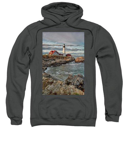 Afternoon Light At Cape Neddick Sweatshirt