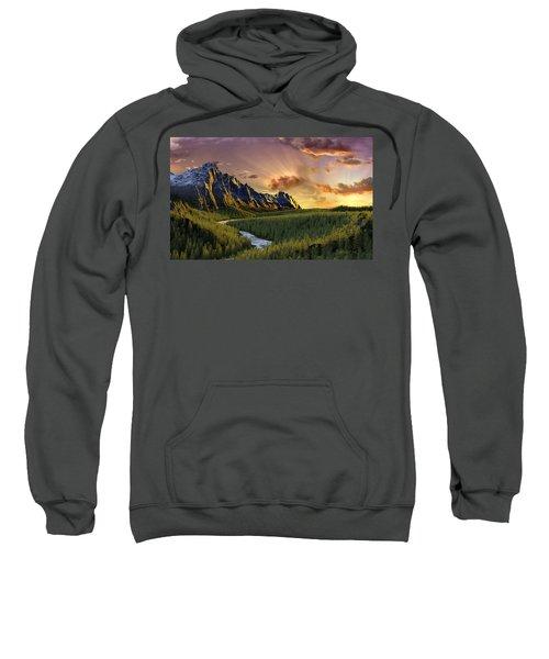 Against The Twilight Sky Sweatshirt