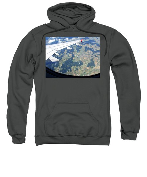 Air Berlin Over Switzerland Sweatshirt